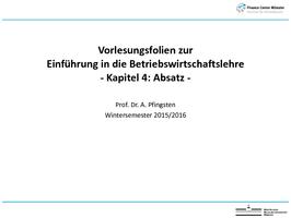 BWL 1 Einführung in die BWL (EBWL) - Studydrive