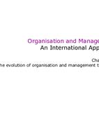 International Marketing Management    - Studydrive