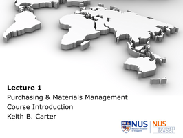 Introduction To Materials Management Pdf