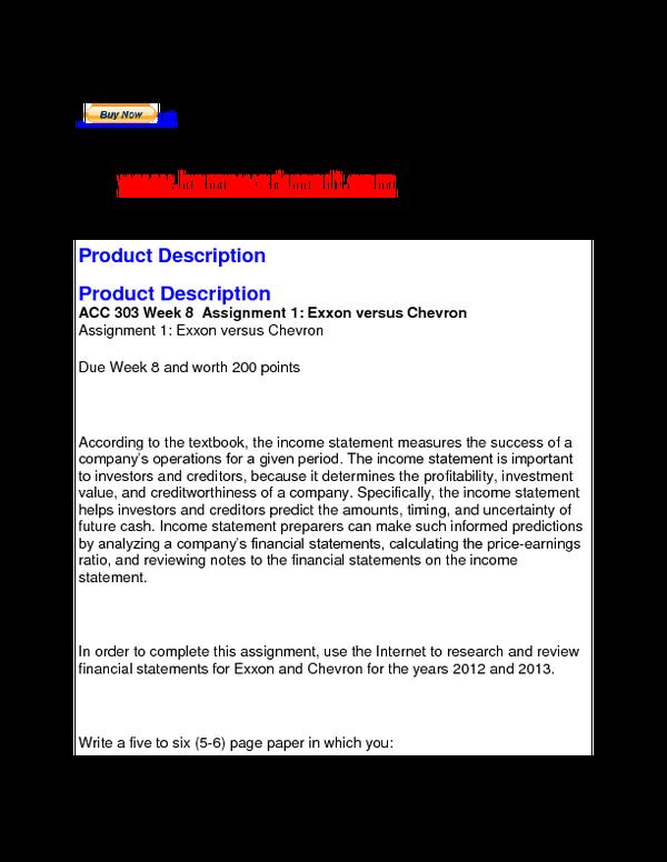 chevron financial statements 2012