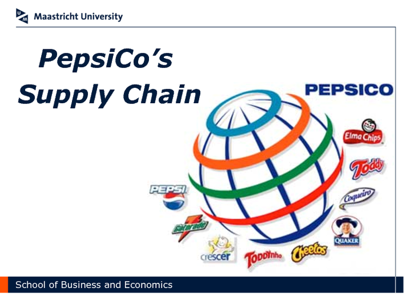Supply chain management of pepsico case study