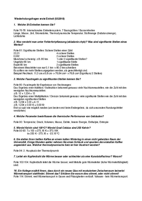 Bauphysik Kolloqium Thema 1 pdf - Free download