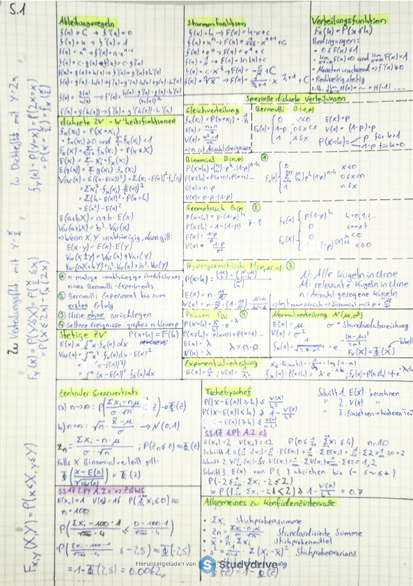 Statistik M