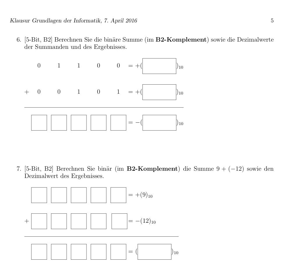 Grundlagen der Informatik - Studydrive