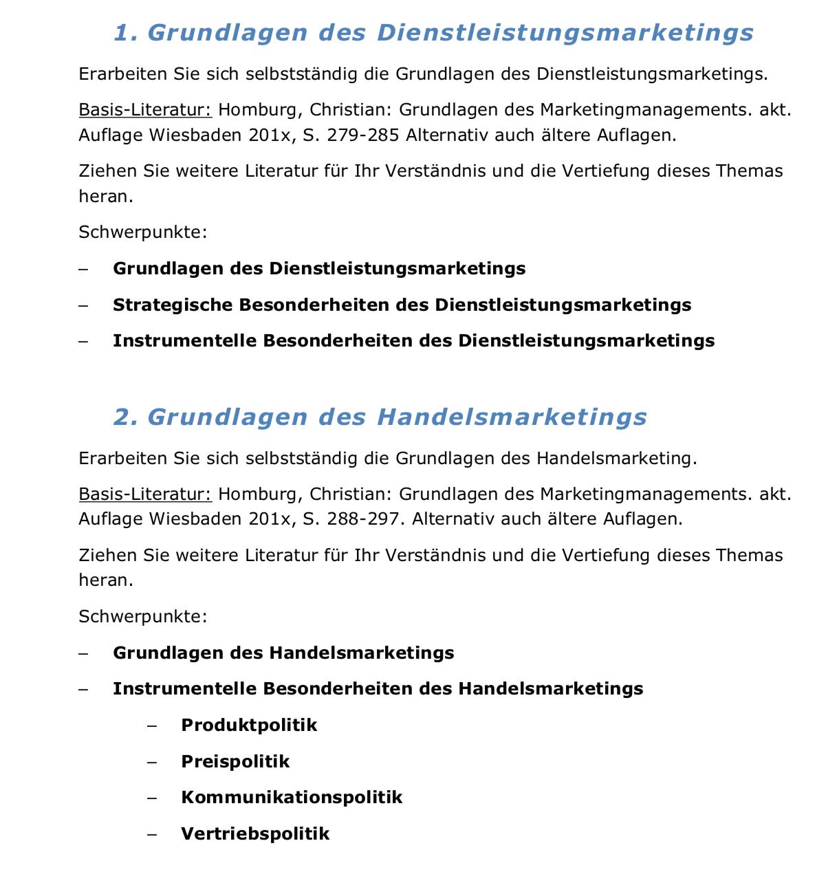 Marketing an der Fachhochschule Aachen - Studydrive